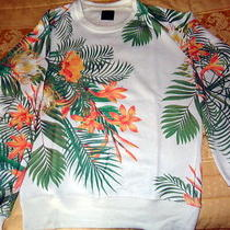 Zara Givenchy Versace Prosum Floral Sweat  Photo