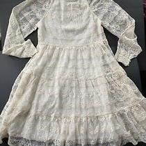 Zara Kids Girls Embroidered Tulle Dress Ecru Sz 10 Nwt Easter Special Day... Photo