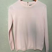 Zara Knit Size M Womens Blush Pink Blouse Top Shirt Photo