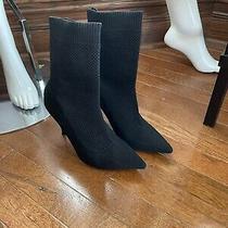 Zara Knit Stilleto Boot Photo