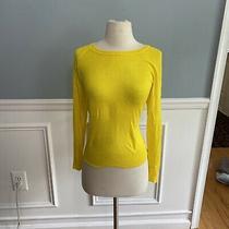 Zara Knitwear Yellow Sweater Small Photo