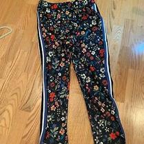 Zara L Men's Pants Floral Pattern Photo