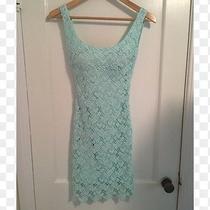 Zara Lace Mint Dress Photo