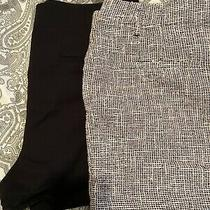 Zara Ladies Shorts Size Xl Ax One Pink Tweed One Black Photo