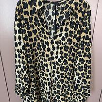 Zara Leopard Print Shift Dress Photo