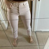 Zara Light Pink High Waist Jeans Size 10 Photo