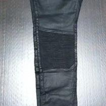 Zara Man Biker Coated Pants Balmain Apc  Photo