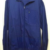 Zara Man Blue Casual Sports Nylon Jacket /h&m Gap Express Armani Banana Republic Photo