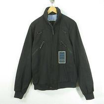 Zara Man Nwt Denim Couture Cotton Blend Black Brown Full Zip Jacket Coat Large L Photo