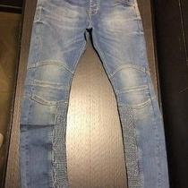 Zara Man Pannel Jeans Balmain Size 36us Photo