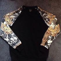 Zara Man Printed Creneck Sweater Versace Balmain Photo