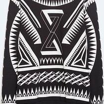 Zara Man Printed Crewneck Sweater Photo