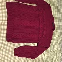 Zara Man Red Sweater Sizel Photo