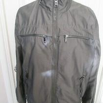 Zara Mens Grey Lightweight Jacket Size Xl Photo