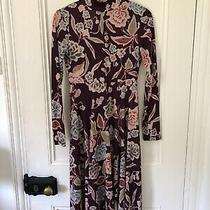 Zara Multicoloured Dress Purple Floral M Bloggers Favourite Photo