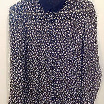 Zara  Poodle Shirt Black and White Size Large Photo