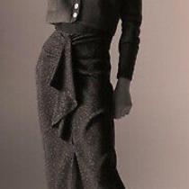 Zara Printed High Waist Midi Skirt Black/green Size M Bnwt 25.99 Photo