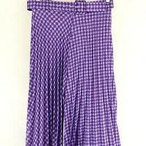 Zara Purple Skirt M by Reluv Clothing Photo