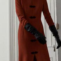 Zara Red Toggle Dress Photo