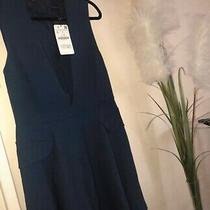 Zara Sleeveless Navy Dress Photo