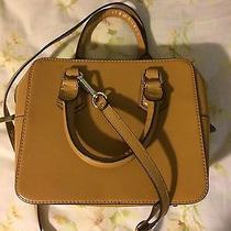 Zara Structured Box Tote Handbag Photo