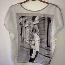 Zara Trendy Graphic Tee Shirt Photo