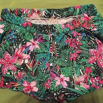 Zara Tropical Print Shorts Photo