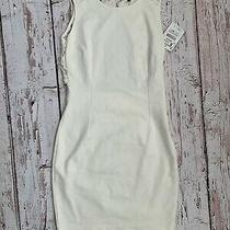 Zara White Bodycon Dress Size S Brand New With Tags  Photo