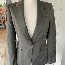 Zara Woman Grey Blazer Eur 38 Size 12  Photo