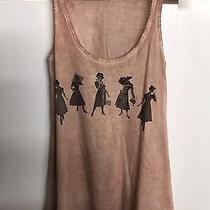 Zara Woman Premium Denimwear Collection Top T-Shirt Vest Pink Blush Small Rare Photo