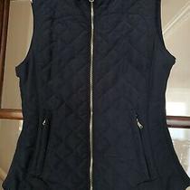 Zara Women Quilted Gillet Sleevless Jacket Size 8-10 Photo