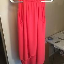 Zara Women's Blush Sleeveless Dress Size Medium Photo
