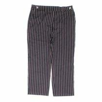 Zara Women's Capri Pants Size Xl  Blue/navy Red White  Polyester Viscose Photo