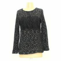 Zara Women's Sweater Size S  Grey  Polyester Cotton Polyamide Photo