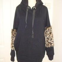 Zara Womens  Oversized Black Hoodie Size M Photo
