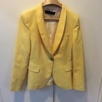 Zara Yellow  Blazer. Size M Photo
