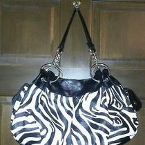 Zebra Print Hobo Bag Photo