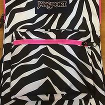 Zebra Stripe Laptop Bookbag Photo
