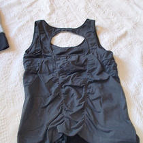 Zella Rutched Tank Sz M  /gray M Photo