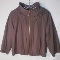 Zenergy by Coach Women's Zip-Up Jacket Color Brown Women's Us Size 0 Photo