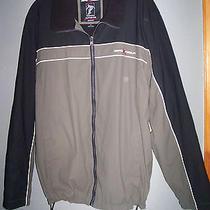 Zero X Posur Activewear Element Protector Jacket Sweatshirt Mens Sz Xl - Mint Photo