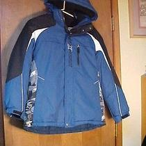 Zeroxposur Boys Youth 4 in 1 Hooded Winter  Element Protector Jacket-Sz L 14/16  Photo
