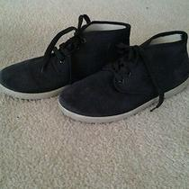 Zig Zag Shoes Black Chukka Gum Sole Lace Up Urban Outfitters Mens 9.5 Photo