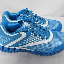 Zignano Womens Sz 8 1/2 Blue White Zigglam Running Sneakers Shoes Rr 319 Photo