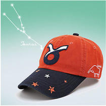 Zodiac Taurus Element Cotton Girl Womens Baseball Cap Sport Cycling Hat Photo