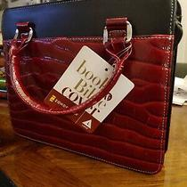 Zondervan Bible Zip Around Carrying Case Cover Handles Pockets Red Croc New Nwt Photo