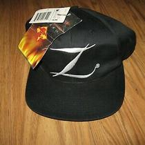 Zorro Movie Z Hat  Snap Back Adult Hat 1998 Dorfman Pacific Vintage Snap Back  Photo