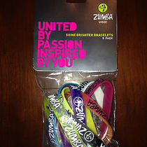 Zumba New Shine Brighter Bracelets Pack of 8 Photo