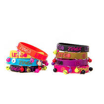 Zumba Shine Brighter Bracelets Zumba Rubber Bracelet 8 Pack Zumba Bracelet Photo
