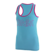 Zumba Women Exercise  Workout Life of the Party Racerback Dance Fitness Rc Photo